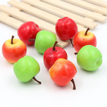 10 pcs fashion Type full artificial fruit kitchen cabinet home accessories fake fruit artificial banana Christmas decorations(China)