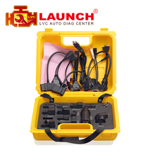 Launch X431 Diagun IV yellow case with full set cables Yellow box full adapters for x-431 Diagun IV DHL free shipping(China)