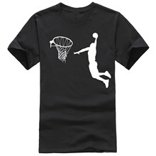 fashion casual jordan Leap dunk Basketball Basket net  pattern design Men t-shirt print man's T shirts tee tops D2011