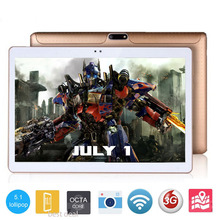"BMXC 10 inch Tablet PCs 3G WCDMA Octa Core 4GB RAM 64GB ROM 5.0MP Android 5.1 GPS 1280*800 IPS Tablet PC 10 10.1"" +Gifts"