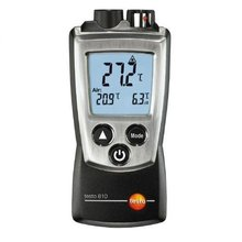 Testo 810 2-channel infrared/NTC air/surface thermometer, Dual IR and Ambient temperature Compare measuring