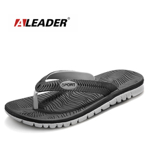 2017 Mens Flip Flops Sandals Rubber Casual Men Shoes Summer Fashion Beach Flip Flops Sapatos Hembre sapatenis masculino(China)