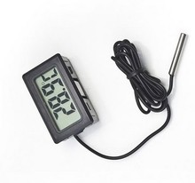 LCD Digital  Mini Thermometer Temperature Sensor Fridge Freezer Probe 40%off