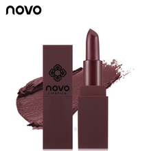 5 Color NOVO Brand Lip Makeup Matte Lipstick Long-lasting Velvet Mousse Lip Stick Batom Waterproof Smooth Cream Korea Cosmetics