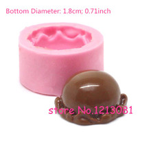 XYL040 Kawaii Ice Cream Scoop Mold Flexible Silicone Mold Decoden Miniature Sweets Mold Fimo Polymer Clay Jewelry Cabochon Resin