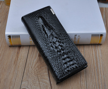 New 100% Genuine good leather brand women wallets 11colors Crocodile 3D purse wholesale fashion leather wallets OBEW15007