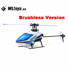 Original WLtoys V977 Power Star X1 6CH 2.4G Brushless RC Helicopter New Original Package Toys Gift(China)