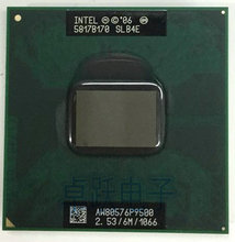 Intel Core 2 Duo Mobile CPU P9500 Dual Core 2.53GHz 6M 1066MHz Socket p Laptop Notebook Processor works on PM45(China)