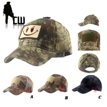 2017 Hike male hat Summer camping man's Camouflage Tactical hat army Fishing bionic Baseball cadet Militar cap