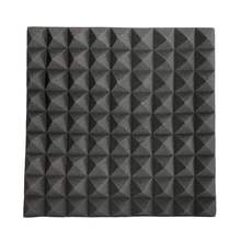Newest 45x45x5cm Soundproofing Foam Acoustic Foam Studio Sound Treatment Absorption Proofing Wedge Tiles Polyurethane foam(China)