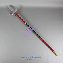 Samurai Warriors II Sanada Yukimura Spear prop cosplay prop PVC made ACGcosplay