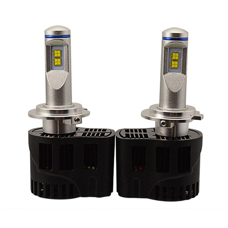 Super Bright H7 H8/H9/H11 9005/HB3/H10 HB4/9006 Car LED Headlights Daytime Running Lights Bulbs Car Fog Lamp 55W 6000K White P6<br>