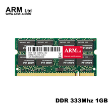 ARM Ltd DDR1 DDR 1 gb pc2700 ddr333 333MHz 200Pin Laptop ddr memory CL2.5 DIMM RAM 1G Lifetime Warranty(China)