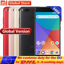 "Global Version Xiaomi Mi A1 MiA1 Snapdragon 625 Octa Smartphone 4GB 64GB Fingerprint FDD 5.5"" Android One Dual 12.0MP Camera(China)"