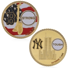 Remembering Boston 11 September 2001 Commemorative Challenge Coin Token Art Gift