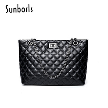 Luxury Handbags Women Bags Designer Stylish Simplicity Women'S Handbags Bags Shoulder Women Bag Handbag Famous Chain Bolsa 10V43(China)