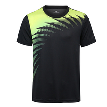 2017 Badminton shirt Women/Men, sports badminton clothes , Table Tennis shirt , Tennis wear shirt print name 5063AB