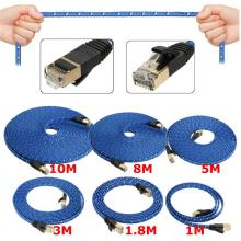 New Arrival 1~10M Cat7 10 Gigabit Ethernet Internet Network Patch LAN Cable Cord Modem Router RJ45 For Computer Laptop