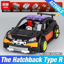 Lepin 20053 Genuine New Technic Series The Hatchback Type R Set MOC-6604 Building Blocks Bricks Educational Toys Boy Gifts Model(China)