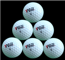 Free Shipping 3PCS Golf Two Layers Training Golf Game Ball High-Grade Wholesale Direct Manufacturer Promotion Training Golf Ball