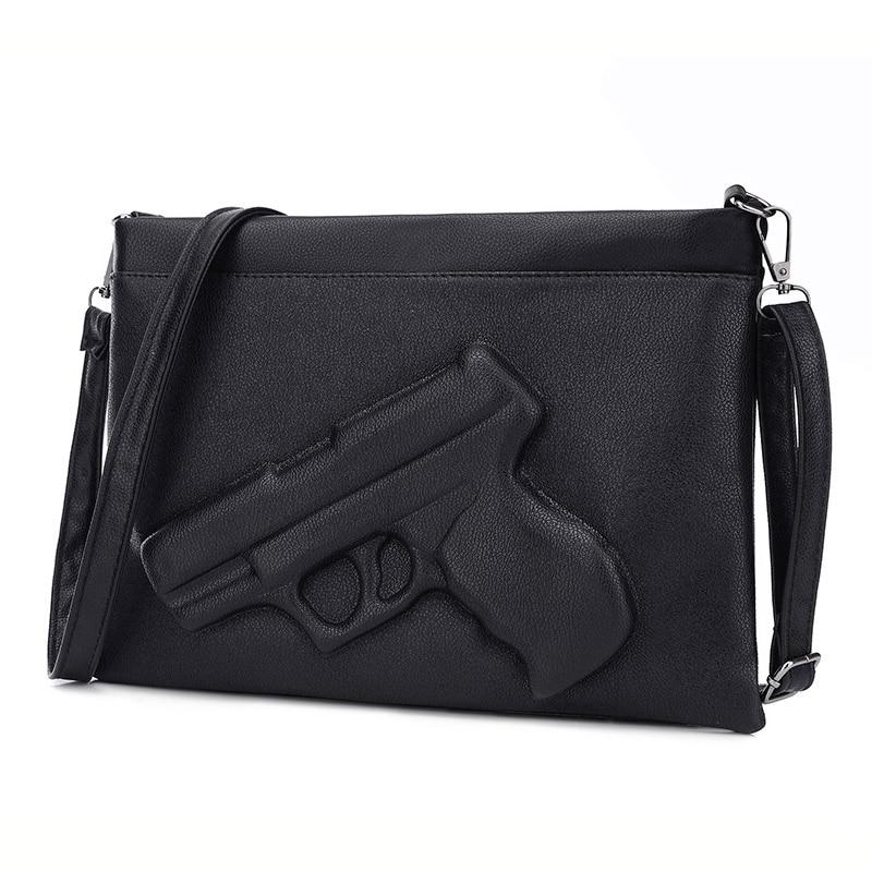 3D Print Gun Bag women bag Designer clutch women messenger bags for ladies Crossbody Envelope bags handbags women famous brands<br><br>Aliexpress
