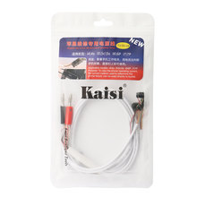 Genuine Kaisi DC Power Supply Phone Current Test Cable for iPhone 7 6s Plus 5s 5 4s 4 Repair Tools