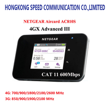unlocked netger AC810S cat11 600mbps4GX with 3 Band CA wifi router dongle Wireless Aircard 810S 4G LTE mobile Hotspot pk e5786(China)