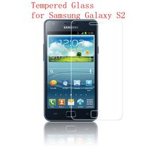 FOR Samsung S2 S II screen protector film tempered glass for Galaxy GT i9100 i9105 S2 plus telefoonhoesje kopen case cover
