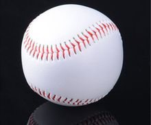 "High quality! 9"" official competition B-class cow leather baseball Softball Sport Team Game,Free Shipping(China)"