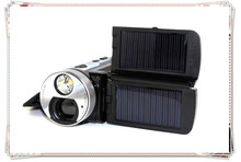 T92 Solar Powered 16x Optical Zoom HD Digital Video Camera With HDMI and Flash Light
