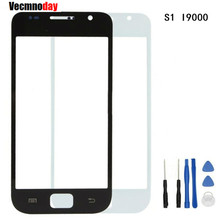 Vecmnoday 4.0 inch Touch Screen Panel LCD Front Outer Glass Cover Lens With Logo + Tools Replacement For Samsung GalaxyS1 I9000(China)