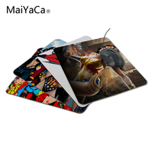 MaiYaCaTop Selling Customized Comics Super Hero Girl Girls Mouse Laptop Notebook Computer PC Mouse Mat Anti-slip Gaming Mousepad