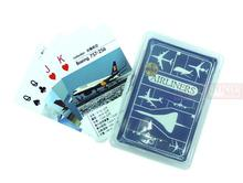 Global airliner aircraft service cards commercial jetliners plane model hobby(China)