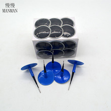 24PCS/ TYRE PUNCTURE REPAIR WIRED 46*6MM / PLUG PATCH MUSHROOM car-styling(China)