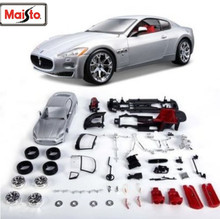 Maisto Bburago 1:24 Maserati GT Gran Turismo Assembly DIY Racing Diecast Model Kit Kits Car Toy New In Box Free Shipping