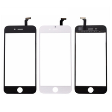 For iphone 6 Touch Screen digitizer panel Replacement Parts For iphone6 TouchScreen Black mobile phone touch panel for iphone 6