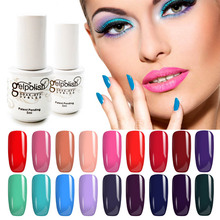 5ml Gelpolish Soak Off LED UV Gel Nail Polish Gel Polish 120 Color Shining Colorful Soak Off Nail Art Manicure Decoration ZJ1339