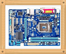 Free shipping UsedGigabyte ga-b75m-d3v solid state integrated desktop computer motherboard 1155 needle support i3 i5 i7