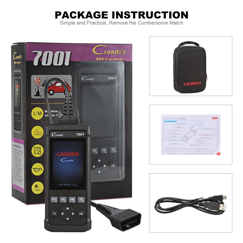LAUNCH-CReader-7001-Code-Reader-Full-OBDII-EOBD-Diagnostic-Functions-Scanner-Scan-Tool-with-Data-Record (4)