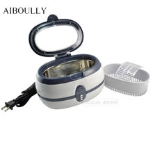 AIBOULLY 220V TPO PRO Digital Tattoo Machine Sterile Tube Jewellery Watch Ultrasonic Cleaner 60ml Stainless Steel And Plastic