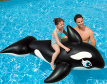 Hot sale summer kids&adult outdoor inflatable  whale shape swimming pool.193*119 inflatable games swimmer