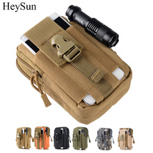 800D Nylon Military Tactical Pouch,Outdoor Molle Waist Belt Bag,5.7inch Universal Tactical Phone Pouch Mountain Outfit 6colors(China)