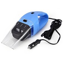 Practical Car Vacuum Cleaner 12V 120W Handheld Wet Dry Dual-use Dust Cleaner for Car Super Suction Blue Dust Cleaner Catcher