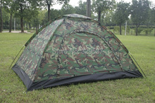 free and fast shipping wholesale Outdoor camping tent double single tier Camouflage tent rain tents lovers tent