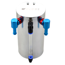 0.7L Silver Universal cusco Racing Aluminum Fuel Oil Catch Tank Can Original Package OCC-002 High Performance
