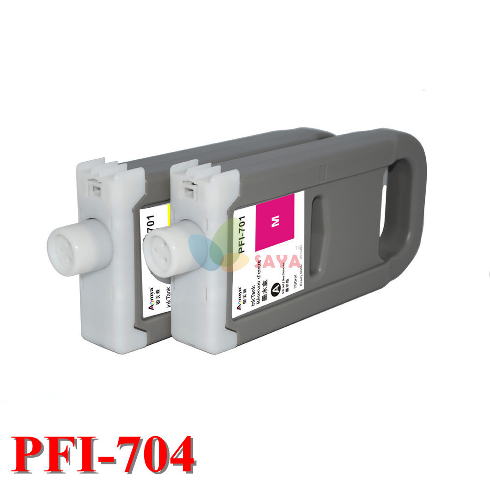 8Colors High Quality Dye ink PFI-704 Compatible Ink Cartridge For Canon iPF 8300s printer original quality Cartridge with chip<br><br>Aliexpress