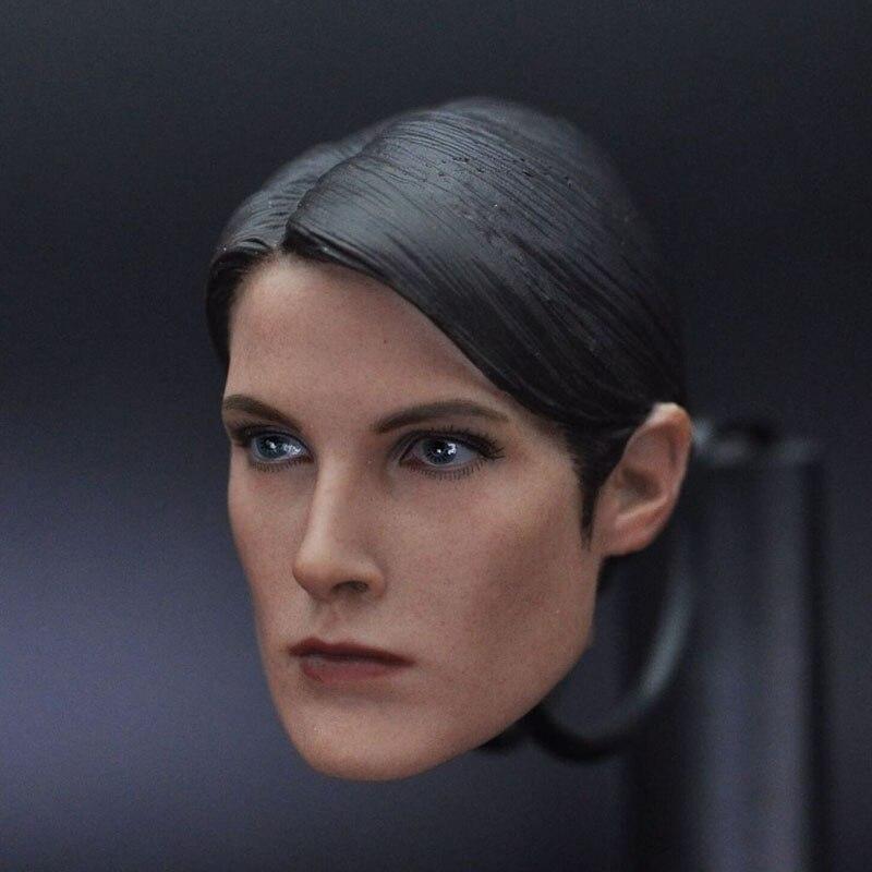 Maria Hill 1/6 Scale Female Head sculpt Model Toys For 12 Female Action Figure Accessory <br>