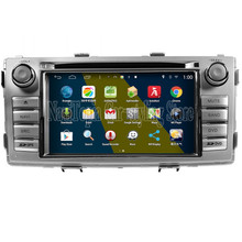 NaviTopia Brand New 6.2inch Quad Core 800*480 16GB Android Car PC for Toyota New Hilux Car DVD Multimedia Player(China)