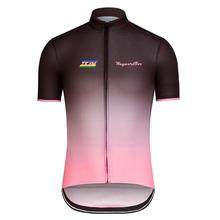 2017 Cycling Team WaywardFox pink jersey Men's cycling clothing bike wear Cycling jerseys Short Sleeve Breathable 100%Polyester