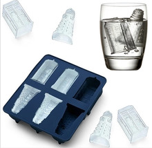 Doctor Who Tardis and Daleks Silicone Ice Cube Tray Dr Who ice cube mold ice bucket drinkware Cocktails Silicone Ice Cube Tray